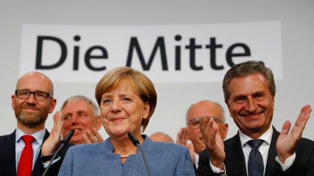 La canciller Angela Merkel (REUTERS/Kai Pfaffenbach)