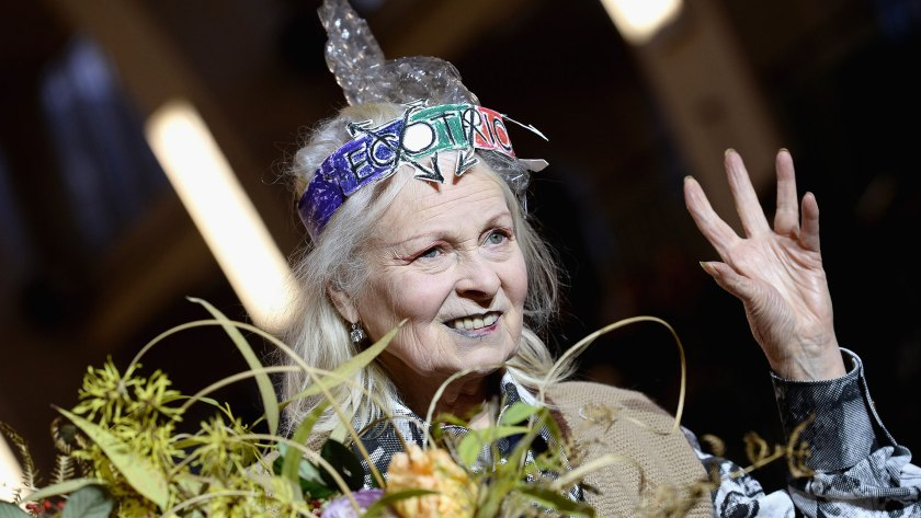 Vivienne Westwood, la diseñadora británica (Getty Images)