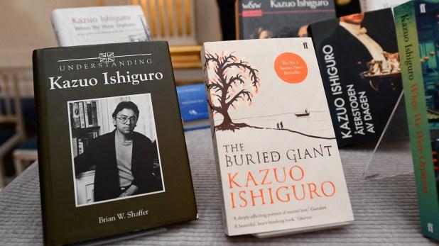 Los libros de Kazuo Ishiguro, el último Nobel (Foto: AFP)