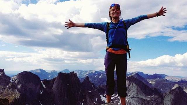 Inge Perkins era una experta esquiadora que ahora se dedicaba junto a su novio a hacer cumbres en los Estados Unidos. Se habían mudado a vivir juntos hacía pocos meses