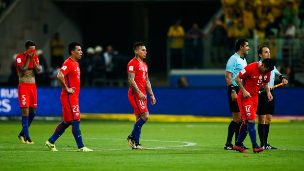 Chile quedó sexto en la Eliminatoria Sudamericana (Getty)
