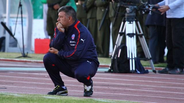 Borghi hizo referencia a los problemas de la selección de Chile (Getty)