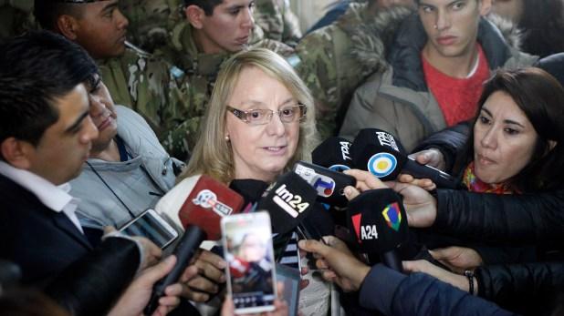 La gobernadora de Santa Cruz Alicia Kirchner