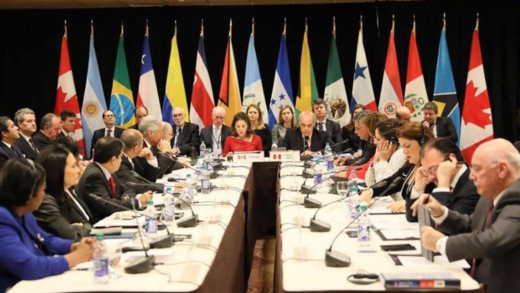 Cumbre del Grupo de Lima (@enpaiszeta / Archivo)