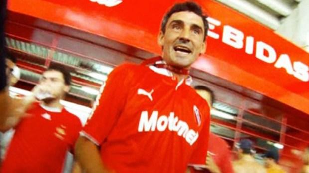 """Pablo """"Bebote"""" Álvarez, líder de la barra de Independiente"""