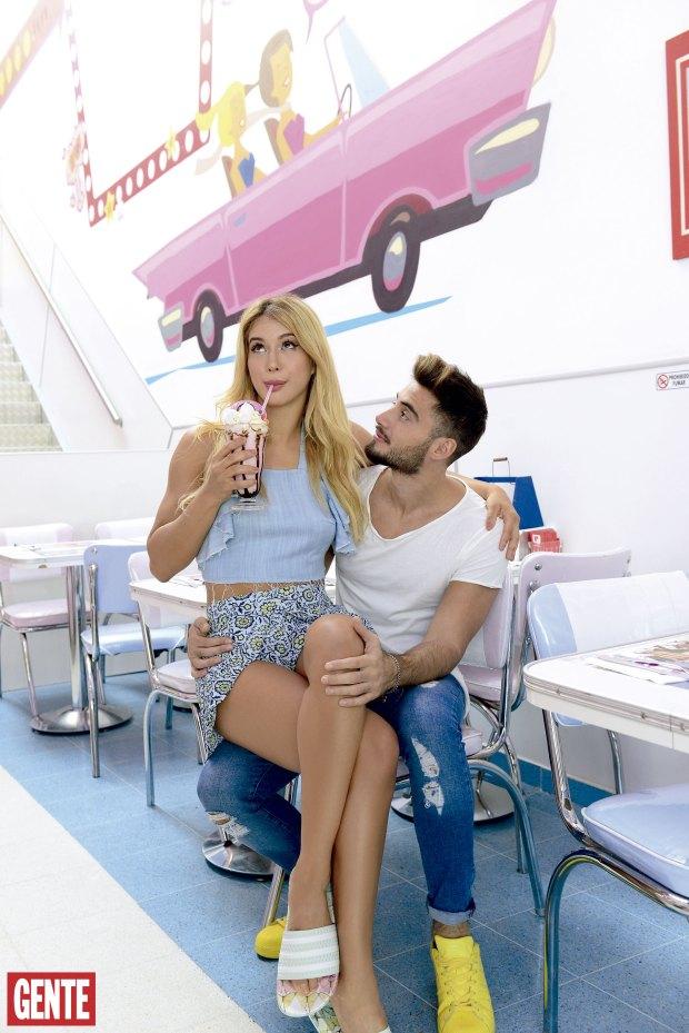 Flor Vigna y Nico Occhiato. Foto: Ale Carra/GENTE