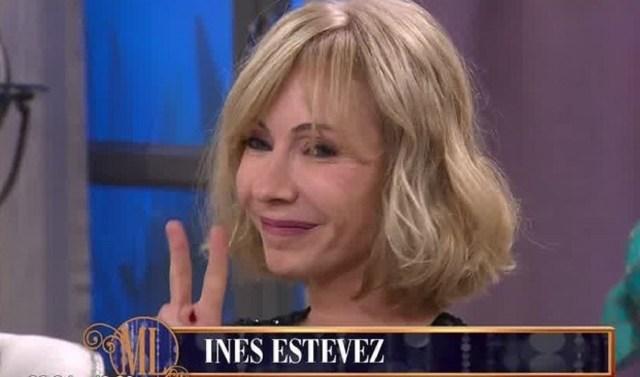 Inés Estévez, invitada en la mesa de Mirtha Legrand