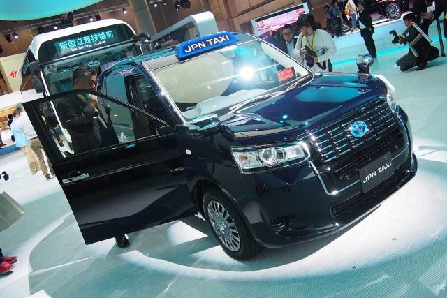 Toyota espera vender más de mil unidades por mes del JPN Taxi