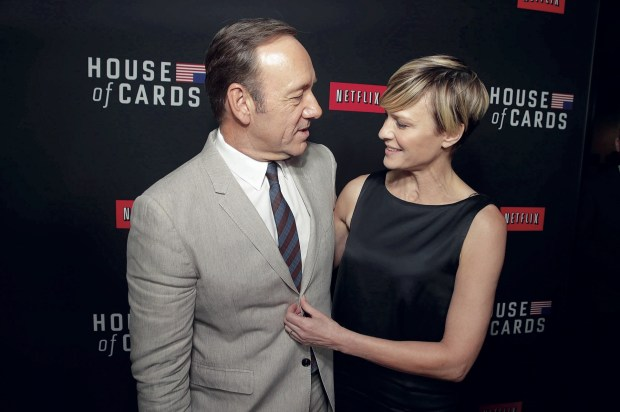 Kevin Spaceyy Robin Wright