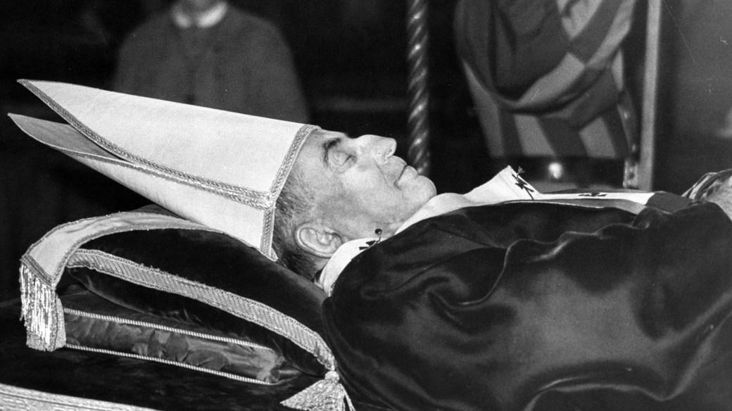 Juan Pablo I murió a los 66 años, llevaba 33 días de papado (Getty)