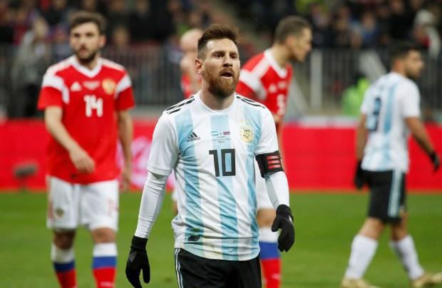 Lionel Messi tendrá descanso ante Nigeria. Ya se encuentra descansando en Barcelona junto a su familia(REUTERS)