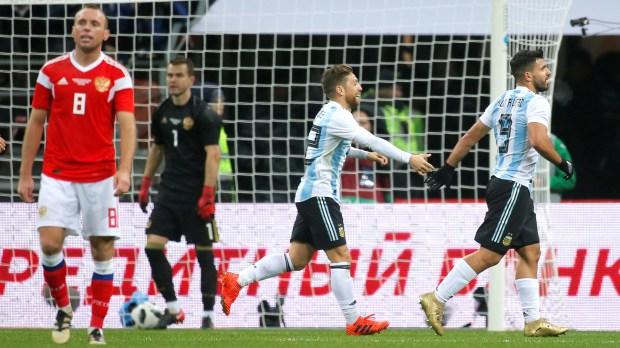 Sergio Agüero volverá a ser el 9 del equipo argentino (Reuters)