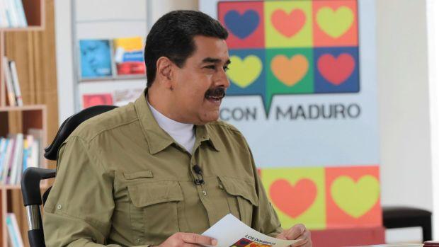 El presidente de Venezuela, Nicolás Maduro. (Reuters)