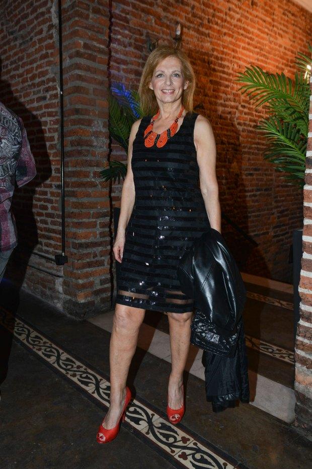 Cristina Alberó. Foto: Fabián Uset/GENTE