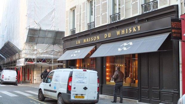 La Maison du Whisky fue objeto de un robo muy particular