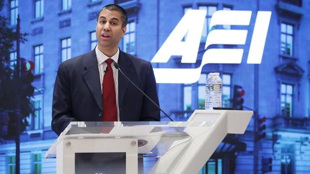 Ajit Pai, presidente Comision Federal Comunicaciones (Getty Images)