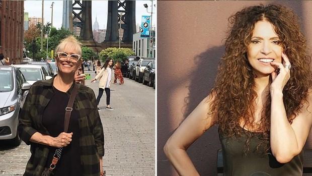 Patricia Sosa y Valeria Lynch