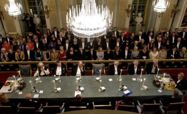 Miembros de la Academia Sueca (Foto: EFE)