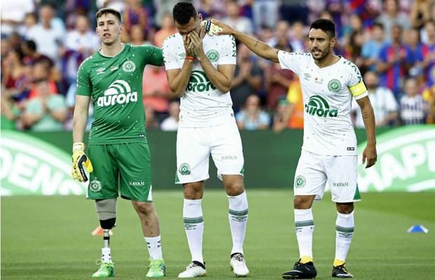 Follmann, Neto y Ruschel, los futbolistas que sobrevivieron a la tragedia del Chapecoense