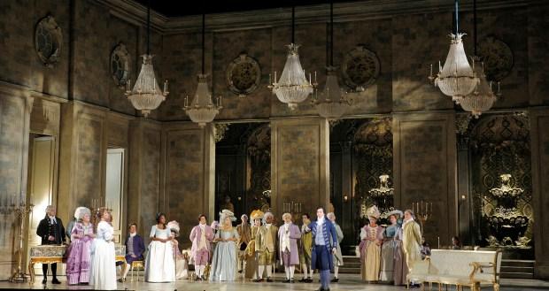 """""""Andrea Chenier"""", en una puesta en la Ópera de San Francisco, EEUU"""