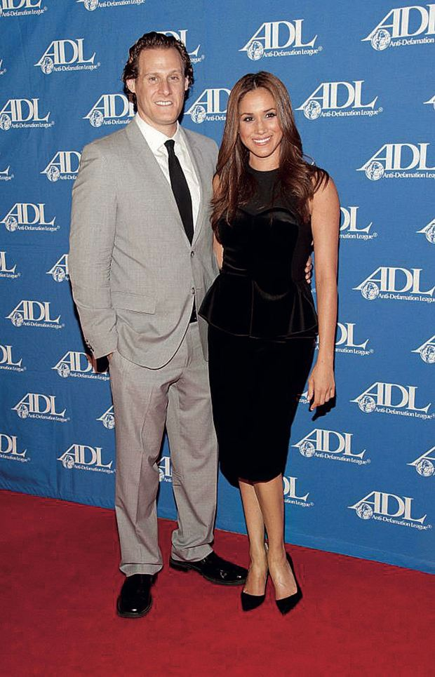 Meghan y su ex esposo, Trevor Engelson (Foto: archivo Atlántida)