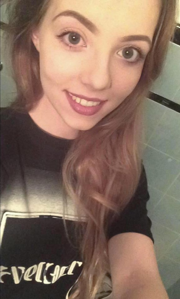 La estudiante de la universidad de Leeds Harriet Brookes