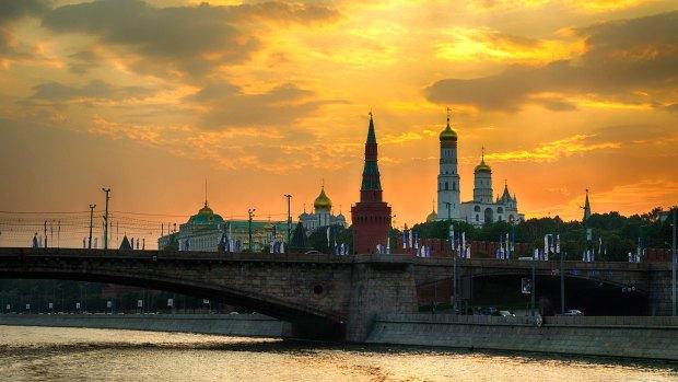 La Plaza Roja de Moscú, uno de los emblemas del país organizador (Getty)