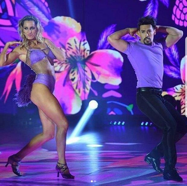 Junto a Jorge Moliners la rompe en el Bailando.