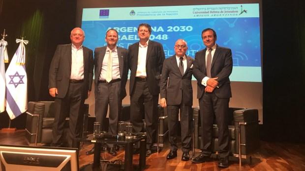 El canciller Jorge Faurie cerró el seminario Argentina 2030 Israel 2048