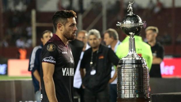Lautaro, ante la frustración de perder la Copa (Getty Images)
