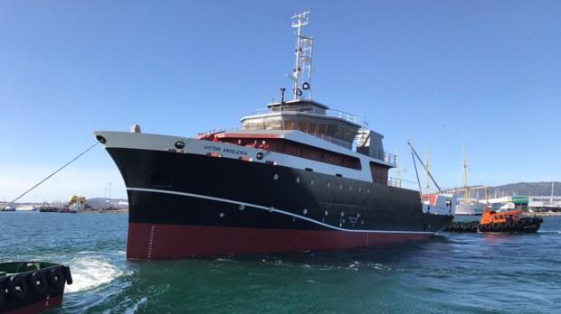 La embarcación Víctor Angelescu