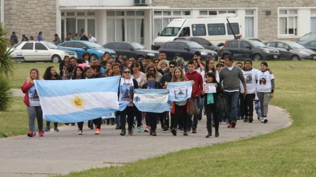 Familiares de los 44 tripulantes del Ara San Juan (Christian Martínez)
