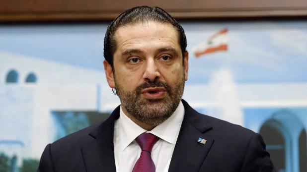 El primer ministro del Líbano, Saad al-Hariri, en una reunión en Baabda, cerca de Beirut (REUTERS)