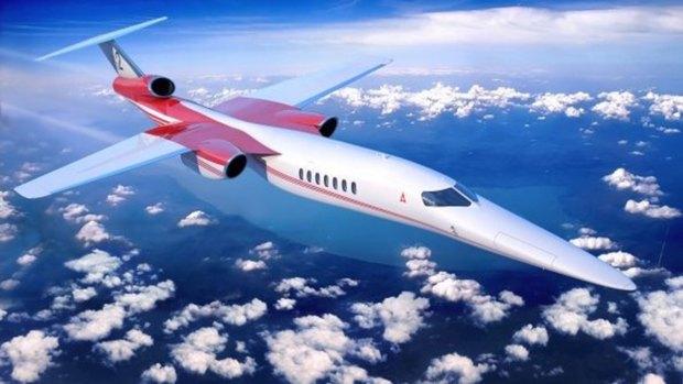 El Aerion AS2 alcanzará velocidades superiores a los 1.600 kilómetros por hora