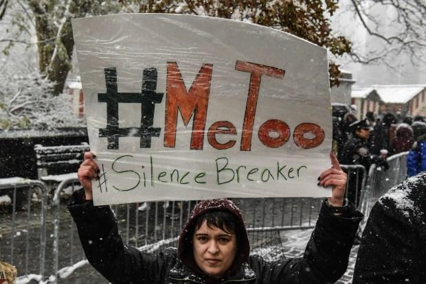 #MeTooen Nueva York (Photo y Stephanie Keith/Getty Images)
