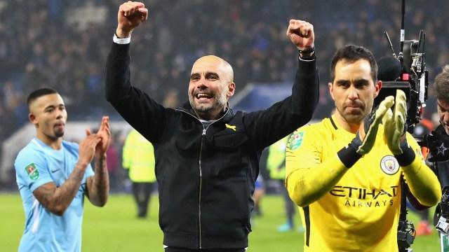 PepGuardiolaha conquistado la Premier League con el Manchester City y ha escrito un nuevo capítulo en su historia (Getty Images)