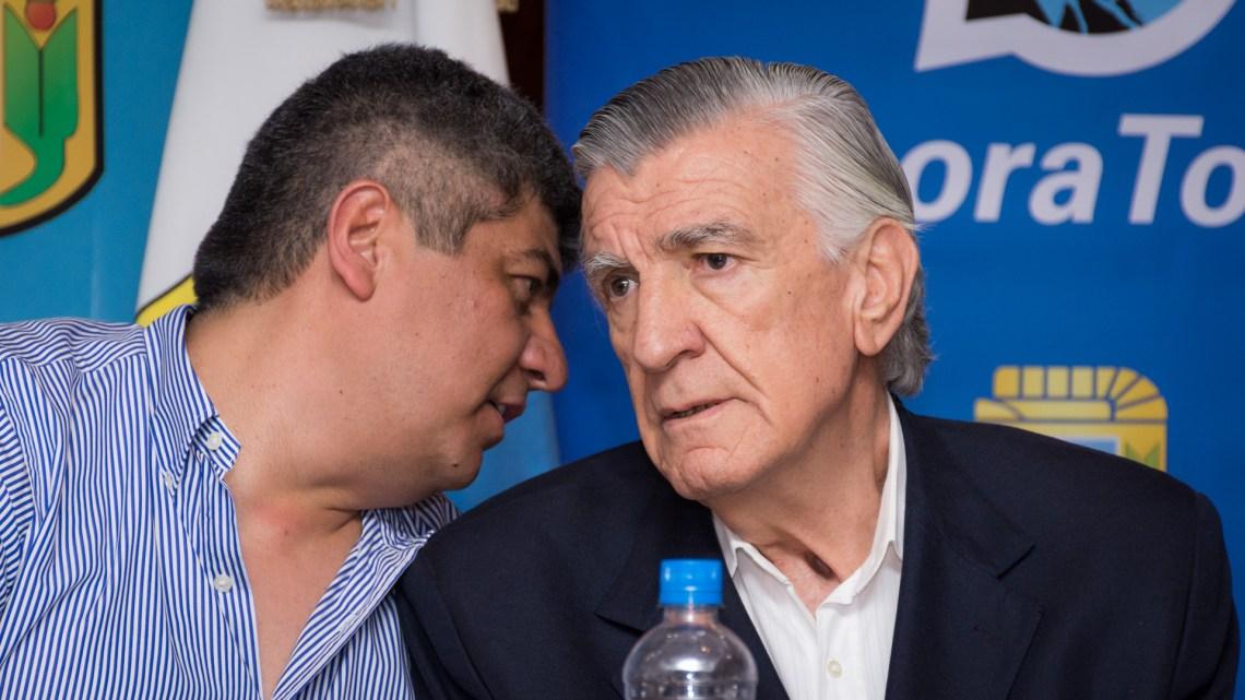 Pablo Moyano y José Luis Gioja (Martín Rosenzveig)