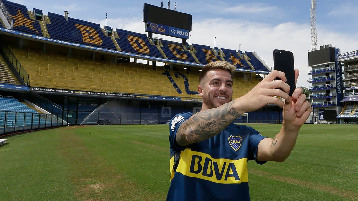 Buffarini firmó contrato con Boca por 3 años y medio (@BocaJrsOficial)