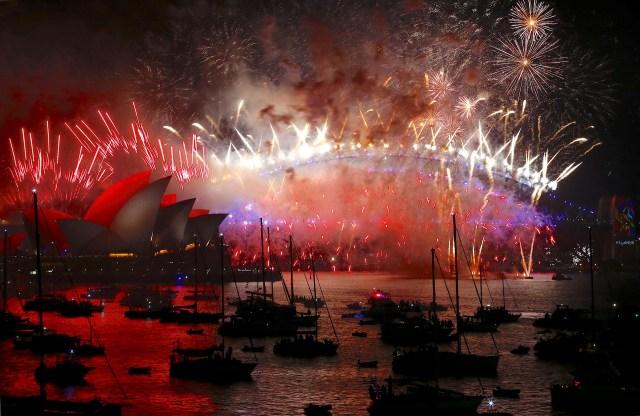 Festejos en Sidney, Australia