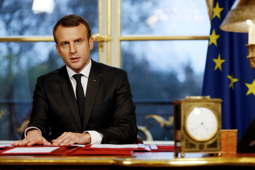El presidente francés Emmanuel Macron (REUTERS/Etienne Laurent)