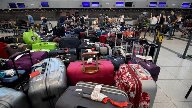El auge del turismo internacional tropieza muchas veces con el paro sorpresivo de actividades de los maleteros (Nicolás Stulberg)