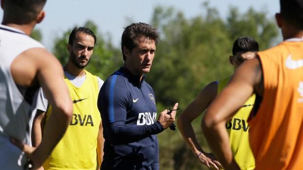 Guillermo Barros Schelotto busca armar un súper Boca (Javier Garcia Martino – Photogamma)