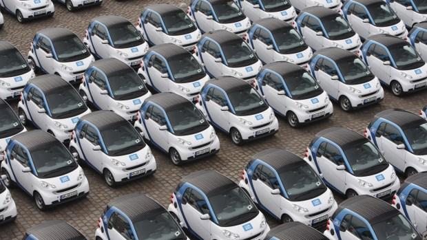 El sistema de car sharinges tendencia en las principalesciudades europeas