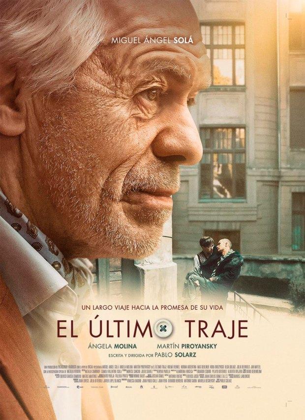 El afiche de la película con el resultado final de su transformación.