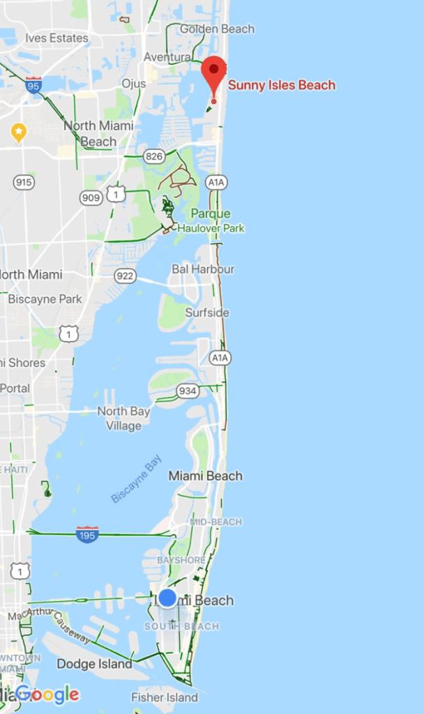 Sunny Isles Beach es una ciudad ubicada en el condado de Miami-Dade en el estado estadounidense de Florida. Los hoteles de 3 estrellas tienen un precio medio de $216 dls y los de 5 estrellas, de $760 dls.