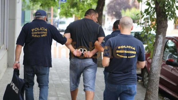 José Burgos, mano derecha de Monteros. También quedó detenido (Emiliano Marconetto)