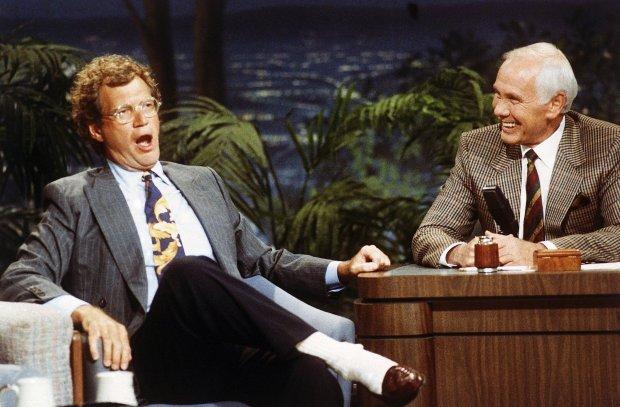 David Letterman comenzó su carrera en el programa de variedades de Johnny Carson