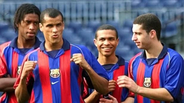 Rivaldo estuvo en Barcelona desde 1998 a 2002