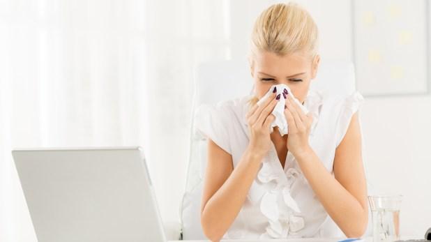 Un equipo de estornudadores profesionales infectan los pañuelos,dijo elfundador de Vaev.(Getty)