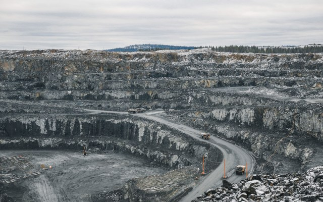 La mina abierta en la zona de Kevitsa (Tomas Westermark/Boliden)